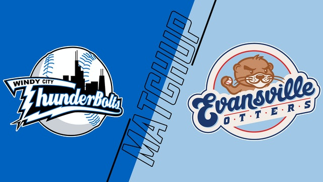 Windy City Thunderbolts vs. Evansville Otters - August 24, 2021