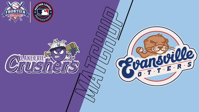 Lake Erie Crushers vs. Evansville Otters - August 14, 2021
