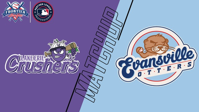 Lake Erie Crushers vs. Evansville Otters - Sept. 12, 2021