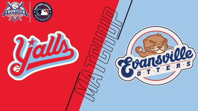 Florence Y'alls vs. Evansville Otters - July 27, 2021