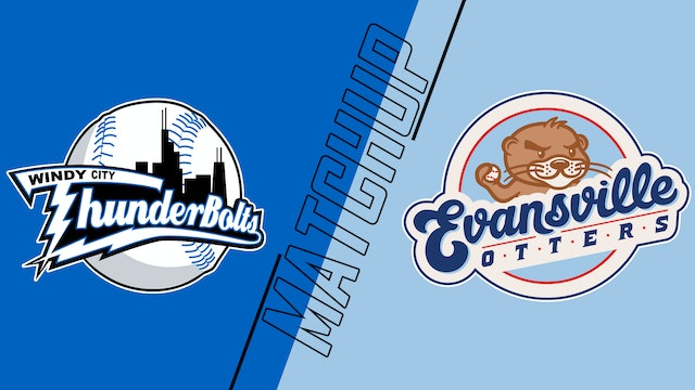 Windy City Thunderbolts vs. Evansville Otters - August 25, 2021
