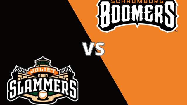 Schaumburg Boomers vs Joliet Slammers 8_19_21