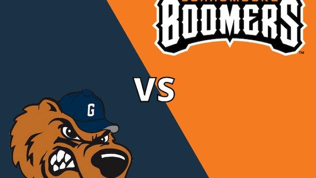 Schaumburg Boomers vs Gateway Grizzlies 8_25_21
