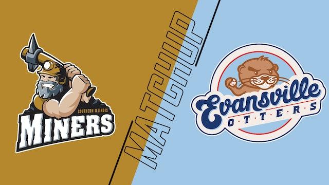 So. Illinois Miners vs. Evansville Otters - August 11, 2021
