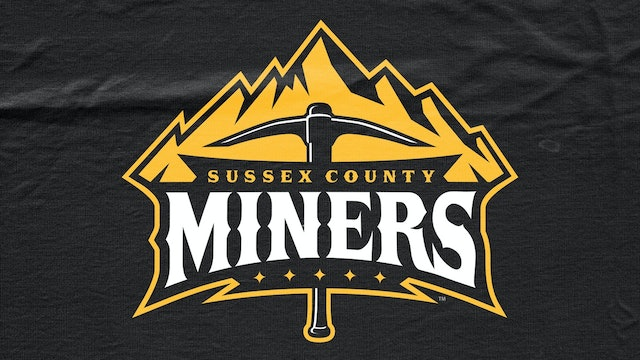 Sussex County Miners VS Tri-City Valleycats Double Header - May 29th @3:00 EST