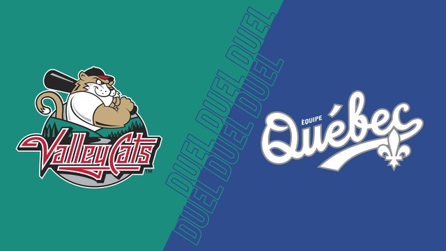 ValleyCats de Tri-City VS Équipe Québec au Stade Quillorama - 5 aout 2021@19h05