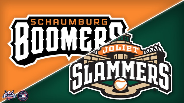 Schaumburg Boomers @ Joliet Slammers- June 25th, 2021 @6:35pm