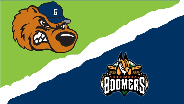 Gateway Grizzlies vs. Schaumburg Boomers - August 14th, 2021