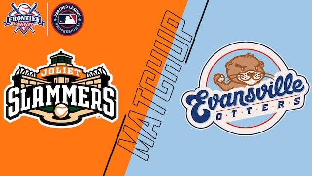 Joliet Slammers vs. Evansville Otters - July 6, 2021