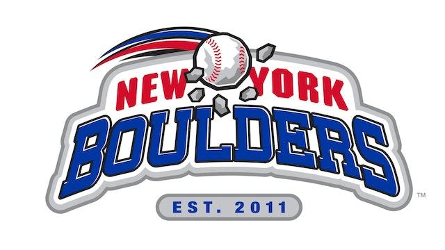 NJ Jackals at NY Boulders Double Header 4:30 6-11-21