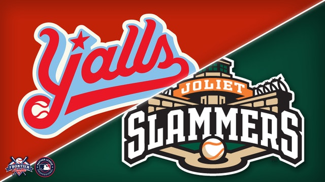 Florence Y'alls @ Joliet Slammers - Sept. 3rd, 2021 @7:05PM (CDT)