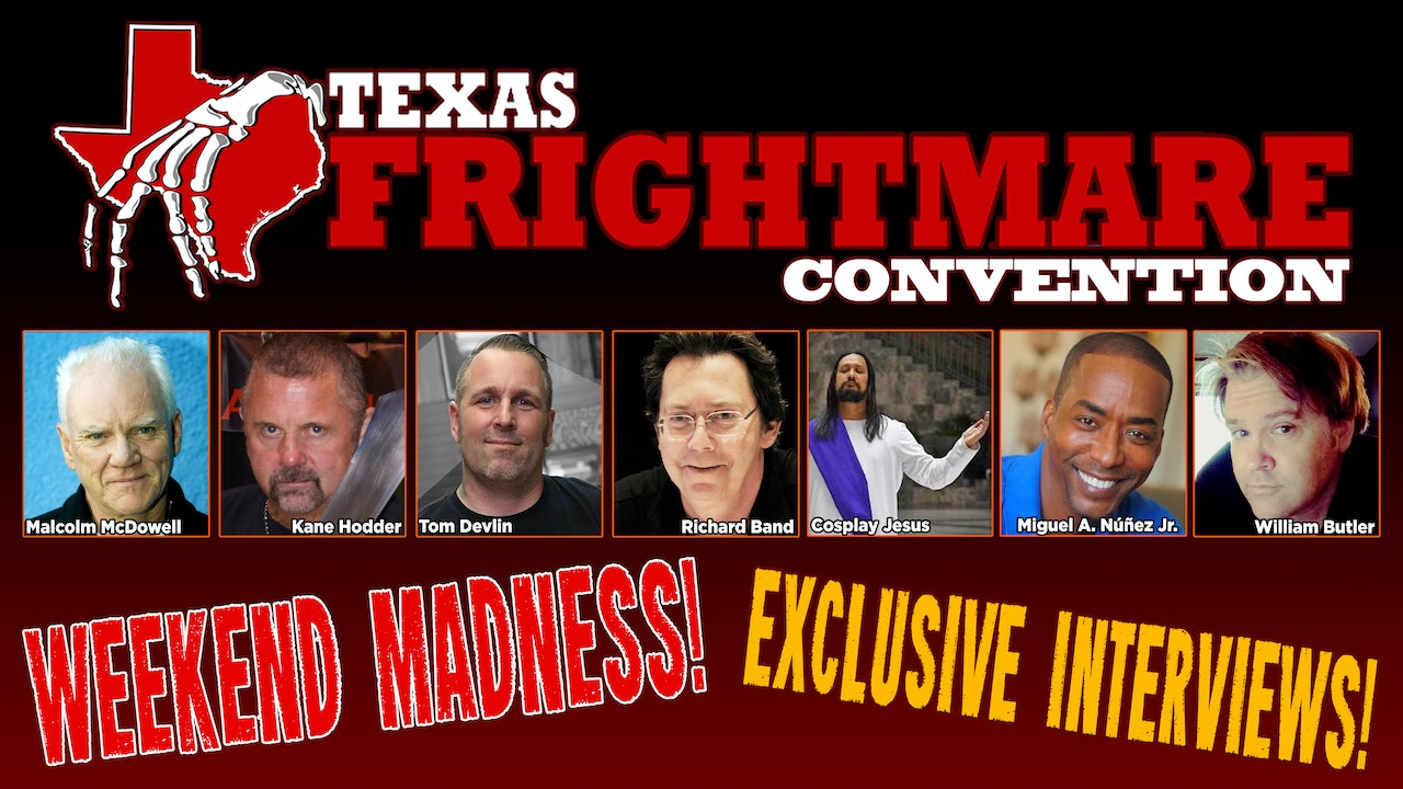 Texas Frightmare 2021 with Charles Band!