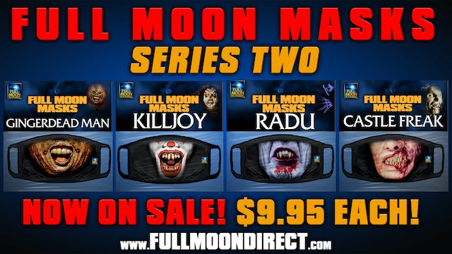 Full Moon Masks Series 2