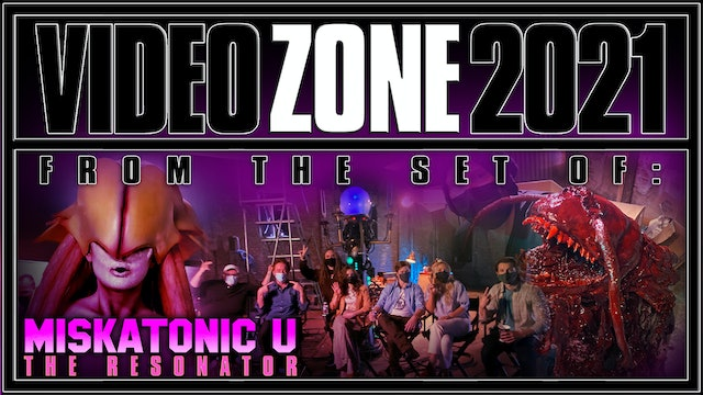 Charles Band's Vidcast: From the set of MISKATONIC U!