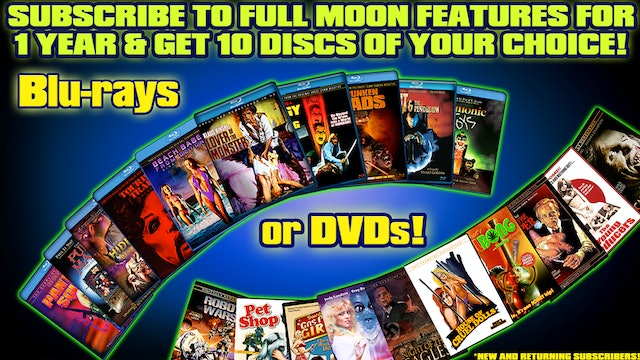 Subscribe to FM Features for 1 year and get 10 DISCS OF YOUR CHOICE!