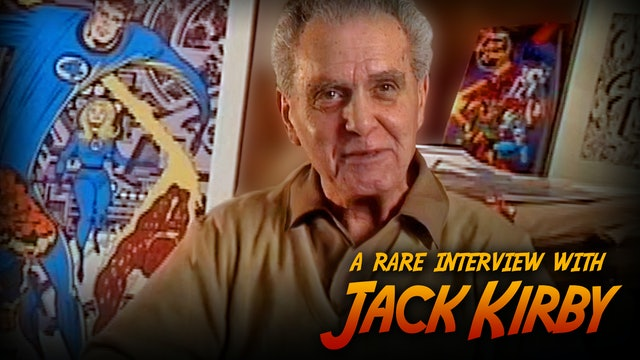 A rare Interview with Jack Kirby
