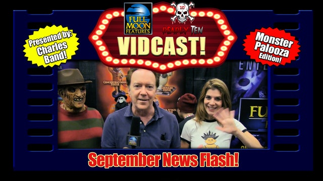 Charles Band Vidcast Monsterpalooza 2019