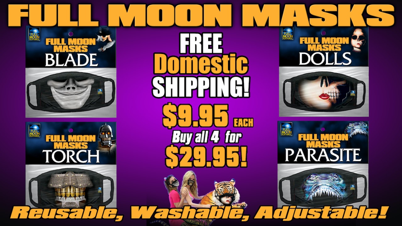 Full Moon Face Masks!