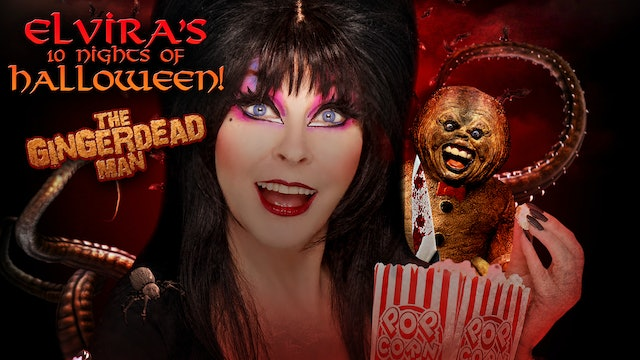 Elvira's 10 Nights of Halloween: Gingerdead Man