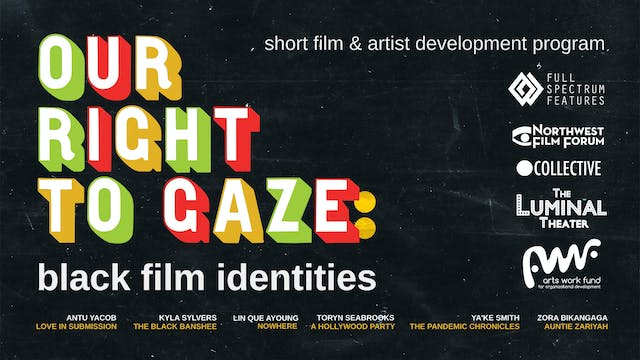 Our Right to Gaze at a/perture cinema