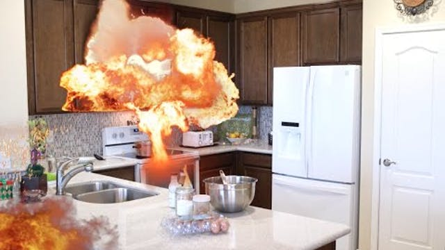 Grandma microwave FAIL!!!