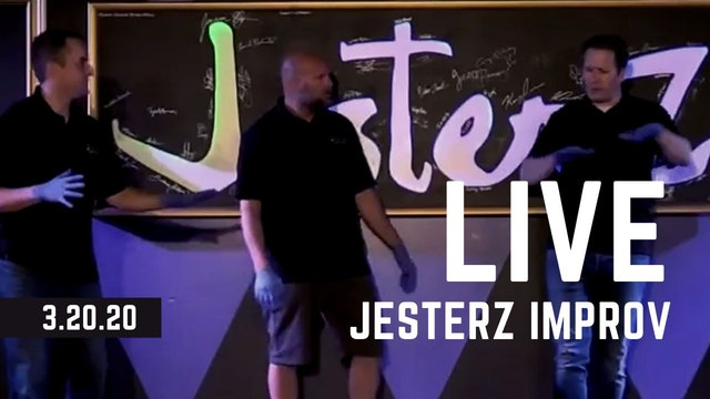 FULL JesterZ Improv Comedy Show LIVE 3.20