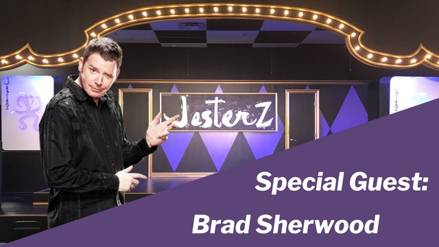 Special Guest:  Brad Sherwood