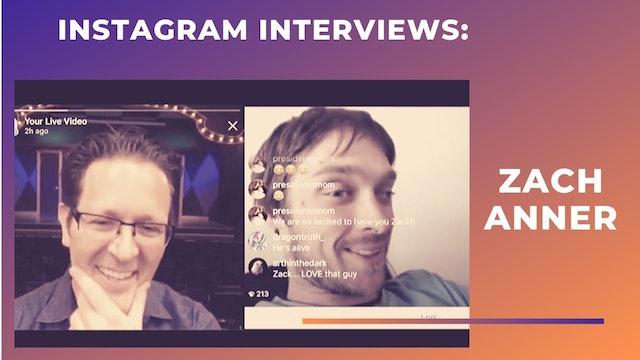 Instagram Interview: ZACH ANNER