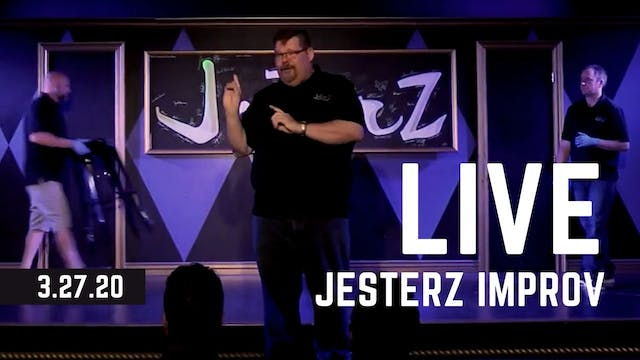 JesterZ Improv Comedy Show LIVE on Ma...