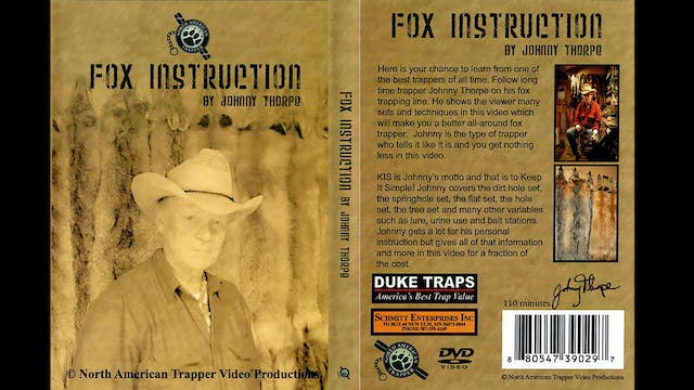 Fox Instruction with Johnny Thorpe