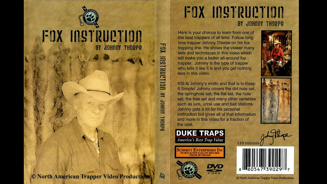 Fox Instruction with Johnny Thorpe
