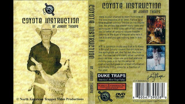 Coyote Instruction with Johnny Thorpe