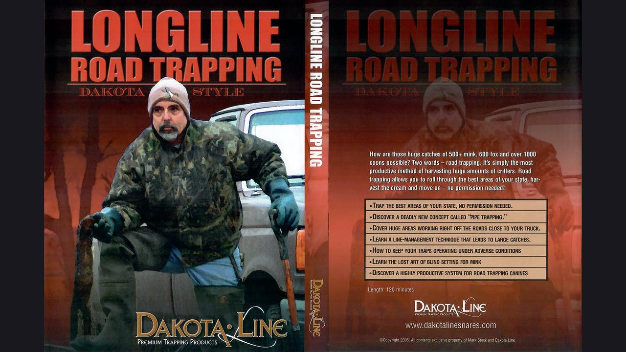 Longline Road Trapping Dakota Style Mark Steck 2hr