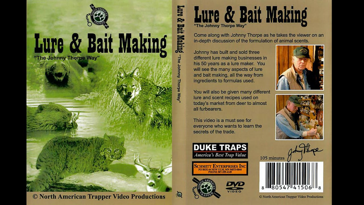 Lure & Bait Making - The Johnny Thorpe Way