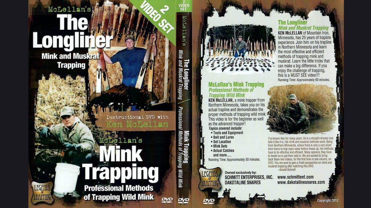 Longliner Mink Muskrat Trapping-Ken McLellan 2 hrs