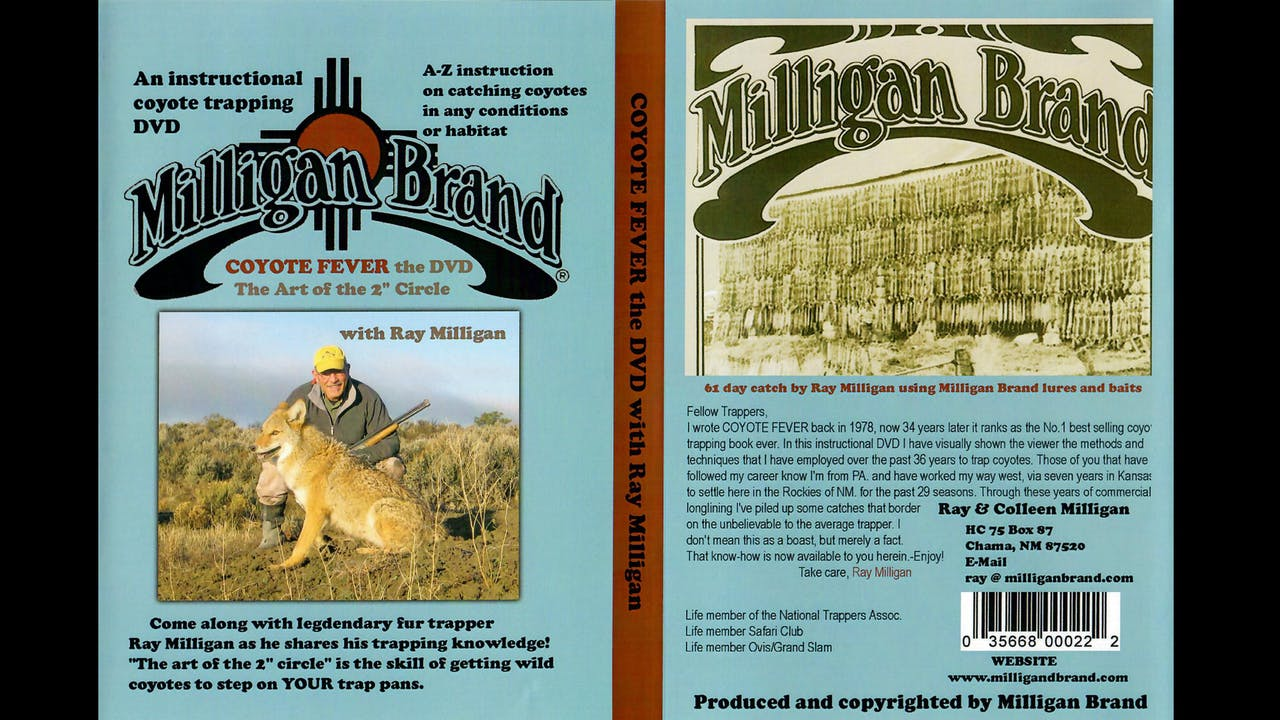 Milligan Brand - Coyote Fever