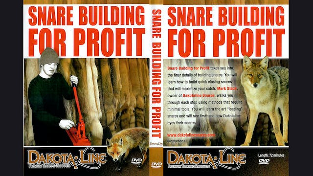 Snare Building For Profit 1 hr