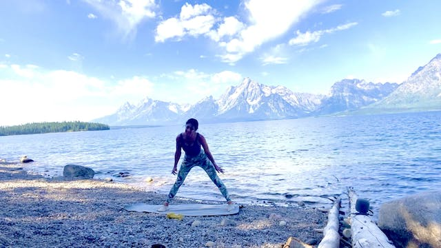 FWRD on the Road: 35-minute Full Body Barre in Tetons