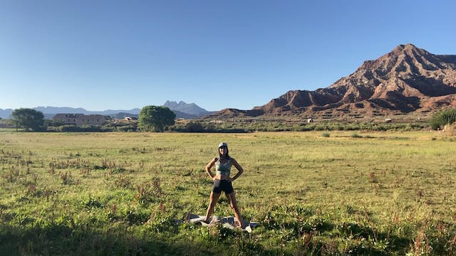 FWRD on the Road: 25-minute Barre in Zion