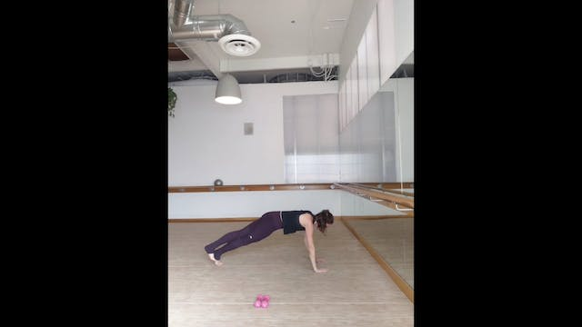 Barre30 with Donna