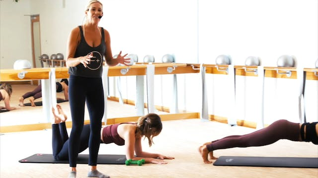 20-Minute Barre Fusion with Jen