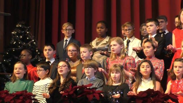 Gagie School Christmas Carol 2017