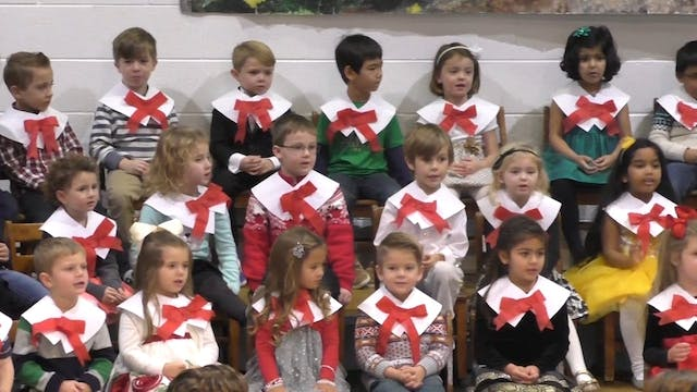 Gagie Afternoon Preschool Holiday Program 2017
