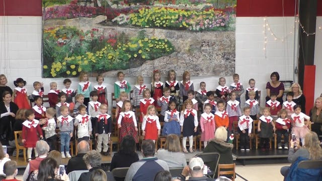 Gagie Morning Preschool Holiday Program 2017