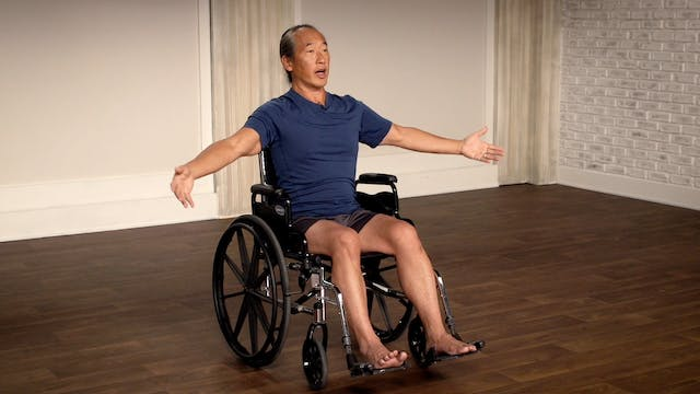 Wheelchair Yoga Practice