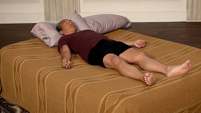 Bed Yoga for Constipation