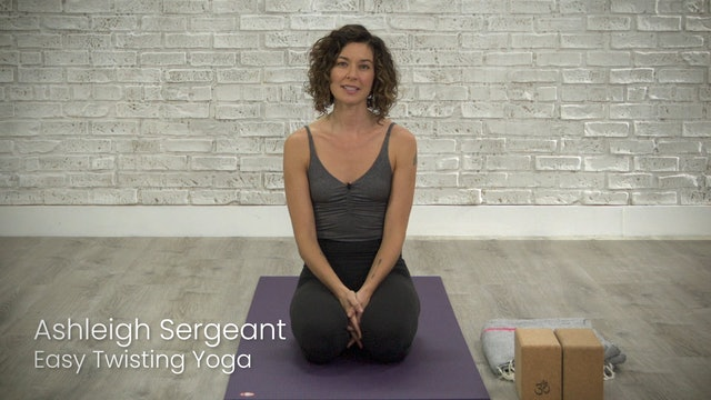 Easy Twisting Yoga
