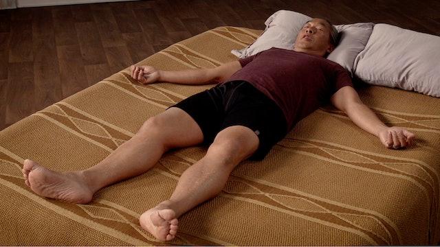 Bed Yoga Practice