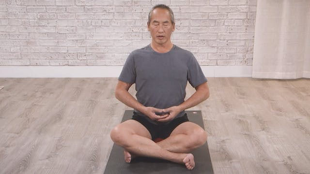 Seated Moving Meditation