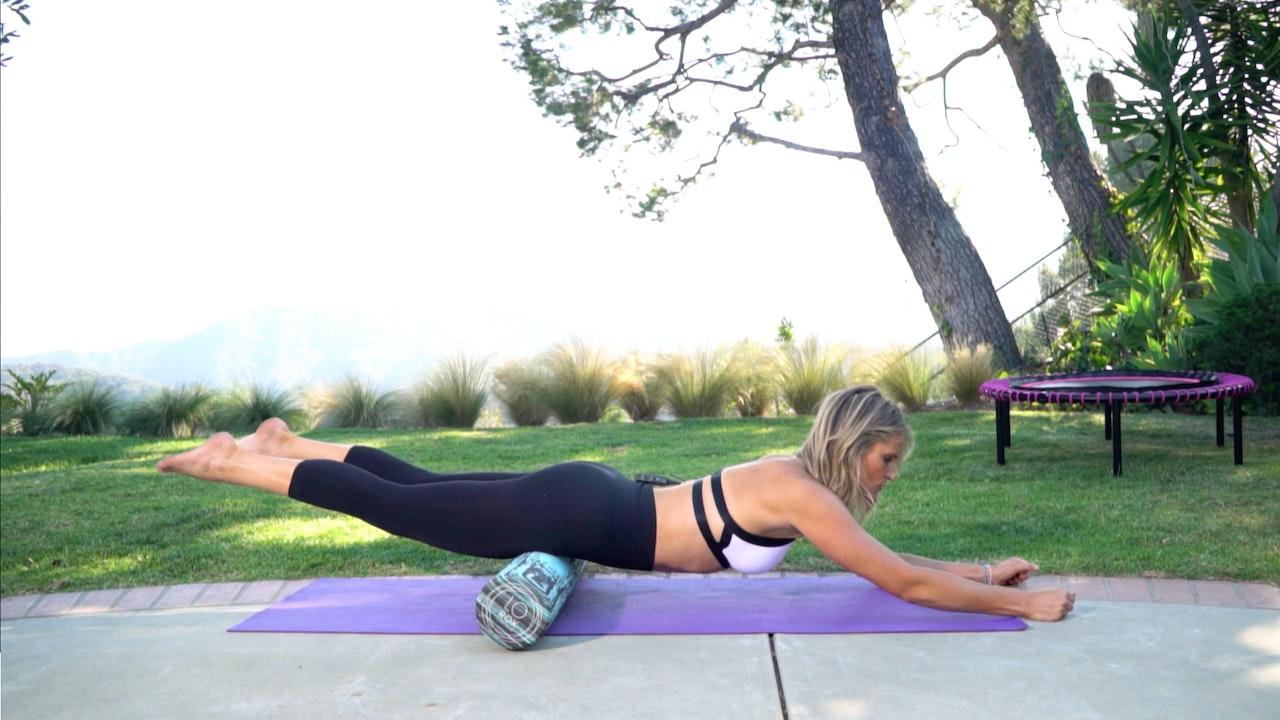 Roll & Rebound to Burn Fat